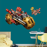 Skylanders - Trigger Happy and Gold Rusher Adhésif mural