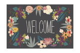 Welcome Bouquet in Grey Prints by Lila Fe