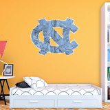 North Carolina Tar Heels Realtree Logo Wall Decal