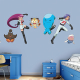 Pokemon - Team Rocket Collection Wall Decal