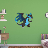Pokemon - Mega Charizard X Wall Decal
