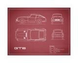 Triumph GT6 Mk1 White Giclee Print by Mark Rogan