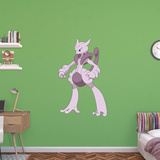 Pokemon - Mega Mewtwo X Wall Decal