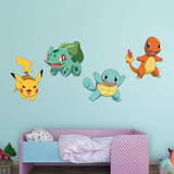 Pokemon - Favorites Collection Wall Decal
