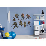Teenage Mutant Ninja Turtles: Out of the Shadows Collection Wall Decal