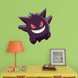 Pokemon - Gengar - Fathead Jr Wall Decal