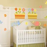 Garden Theme Nursery Collection - Duvar Çıkartması