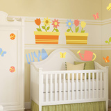Garden Theme Nursery Collection Wall Decal