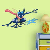 Pokemon - Greninja - Fathead Jr - Duvar Çıkartması