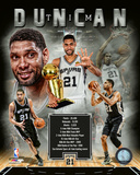 Tim Duncan Legends Composite Photo