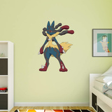Pokemon - Mega Lucario - Duvar Çıkartması