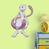 Pokemon - Mewtwo - Fathead Jr Wall Decal