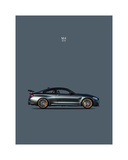 BMW M4 GTS Giclee Print by Mark Rogan