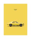 Chevy Camaro SS396 1969 Giclee Print by Mark Rogan