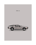 DeLorean DMC-12 1981 Giclee Print by Mark Rogan