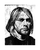 Cobain Giclee Print by Neil Shigley