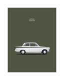 Mark Rogan - Ford Lotus Cortina Mk1 1966 - Giclee Baskı