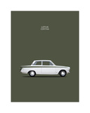 Ford Lotus Cortina Mk1 1966 Giclee Print by Mark Rogan