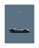 Ford GT40 Wydruk giclee autor Mark Rogan
