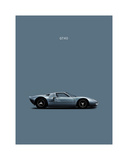 Mark Rogan - Ford GT40 - Giclee Baskı