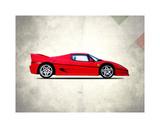 Ferrari F50 Giclee Print by Mark Rogan