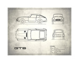 Triumph GT6 Mk1 Giclee Print by Mark Rogan