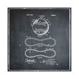 Baseball, 1927-Chalkboard Giclee Print by Bill Cannon