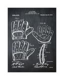 Baseball Glove, 1909-Chalk Boa Giclee Print by Bill Cannon