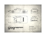 Mark Rogan - Porsche Carrera GTS White - Giclee Baskı