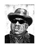 Biggie Giclee Print by Neil Shigley