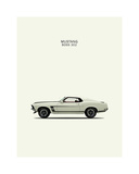 Ford Mustang Boss302 1969 Giclee Print by Mark Rogan