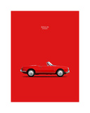 Alfa Romeo Giulia Spider 1964 Giclee Print by Mark Rogan