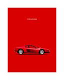 Ferrari Testarossa 84 Giclee-trykk av Mark Rogan