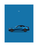 BMW M2 Giclee Print by Mark Rogan