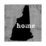 New Hampshire  Giclee Print by Luke Wilson