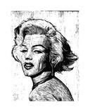Marilyn Giclee Print by Neil Shigley