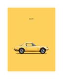 Lotus Elan 1965 Giclee Print by Mark Rogan