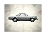 Lancia Flaminia 3c GT2 1962 Giclée-vedos tekijänä Mark Rogan