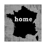 France Giclee Print by Luke Wilson