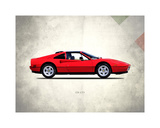 Ferrari 328GTS 1987 Giclee Print by Mark Rogan