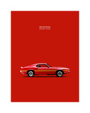 Ford Mustang Shelby GT350 1969 Giclee Print by Mark Rogan