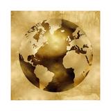 Golden Globe Giclee Print by Russell Brennan