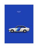 Mark Rogan - Ford Escort RS2000 1978 - Giclee Baskı