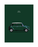 Mini Cooper 1999 Giclee Print by Mark Rogan