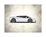 Lamborghini Gallardo Giclee Print by Mark Rogan