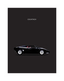 Lamborghini Countach 1984 Giclee Print by Mark Rogan