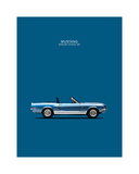 Ford Mustang Shelby GT500-KR 1 Giclee Print by Mark Rogan