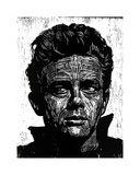 James Dean Giclee Print by Neil Shigley