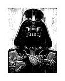 Vader Giclee Print by Neil Shigley