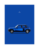 Renault 5 Turbo 1983 Giclee Print by Mark Rogan